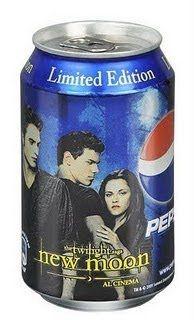 latas de pepsi New Moon
