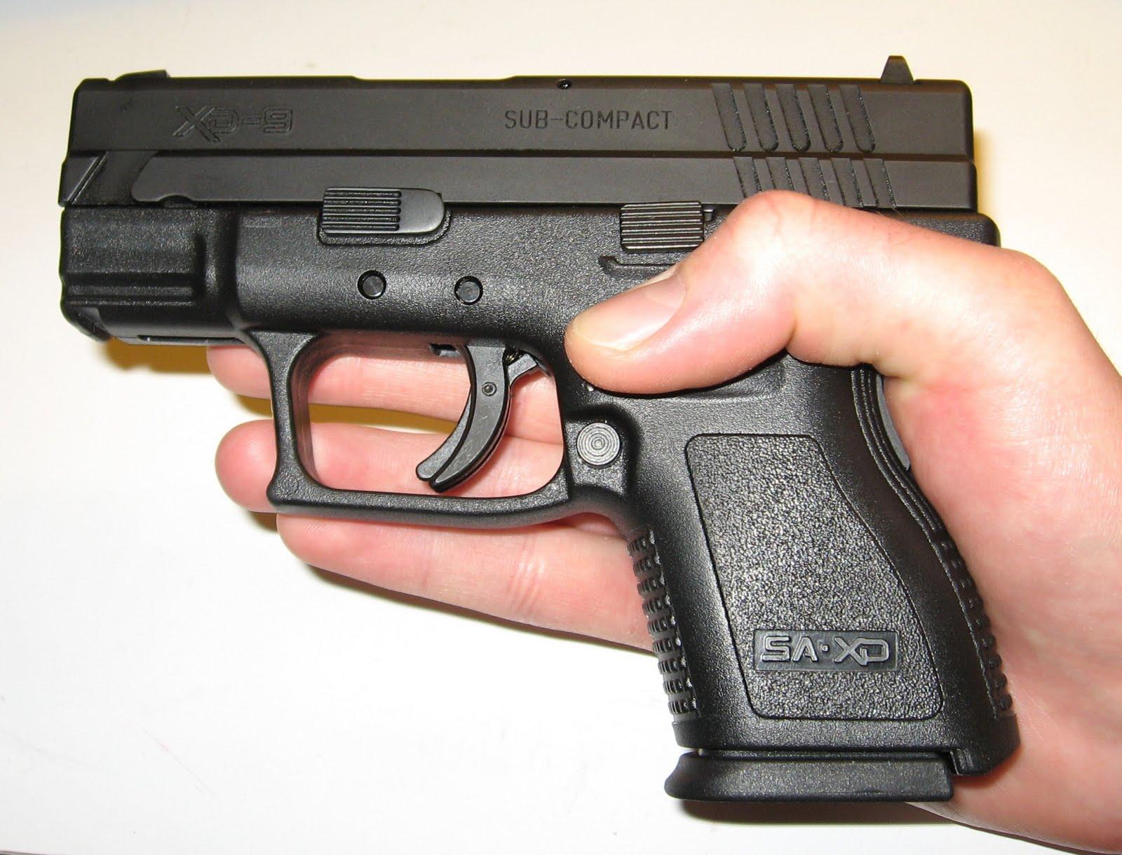 Dead Man Dance  My First Pistol  Springfield Xd9 Sub Compact