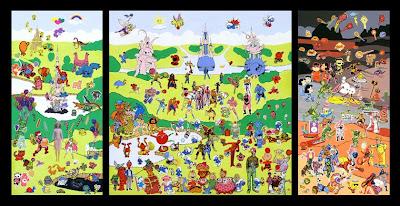 Bosch le jardin des délices by make out artist
