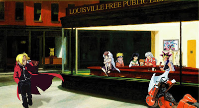 nighthawks hopper anime