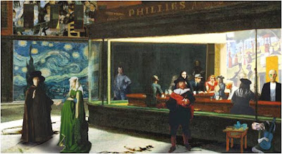 nighthawks hopper epic art