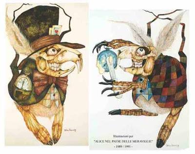 Alice White rabbit Stefano Bessoni