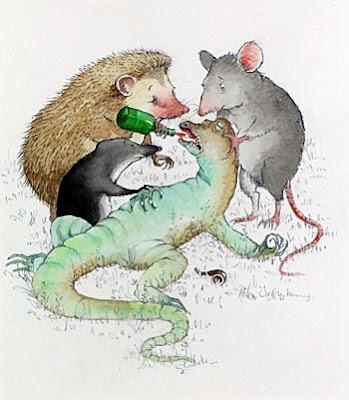 Alice in Wonderland, Bill, Helen Oxenbury