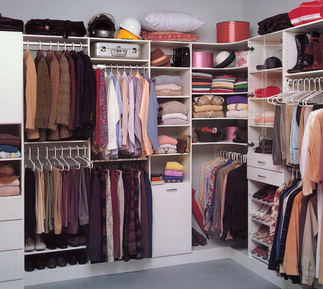 WalkIn Closet Organization Ideas Designs