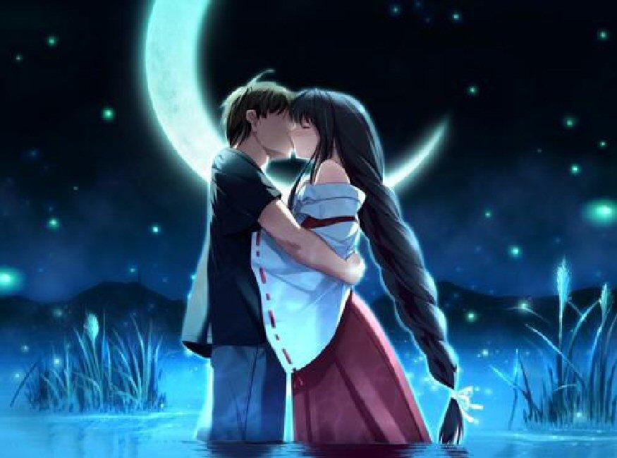 besos dulces, traviesos, que se juegan la vida; por volver a besar