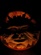 Halloween Green Man Jack-o-Lantern