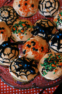 Spider Cupcakes | Halloween Cupcakes