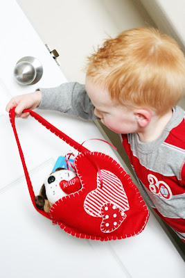 DIY Valentine Crafts | DIY Felt Bag