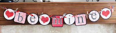 DIY Valentine Crafts | Valentine Banner