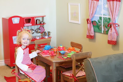 DIY Play Room Kitchen
