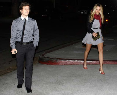 Amanda Bynes and a new cute mystery male companion went to the Macha Theater ...