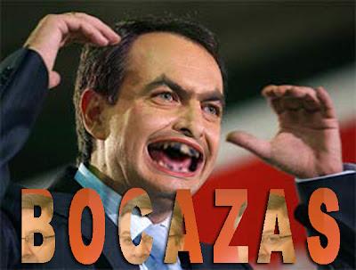 Zapatero, Bocazas