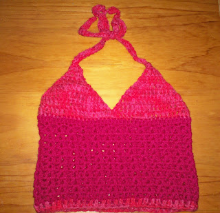 CROCHETED CHILD HALTER TOP PATTERN - Crochet Club