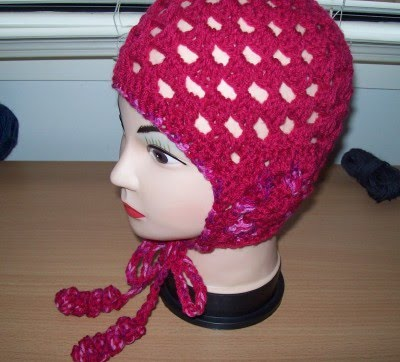 Easy Granny Square Baby Bonnet - A Free Crochet Pattern