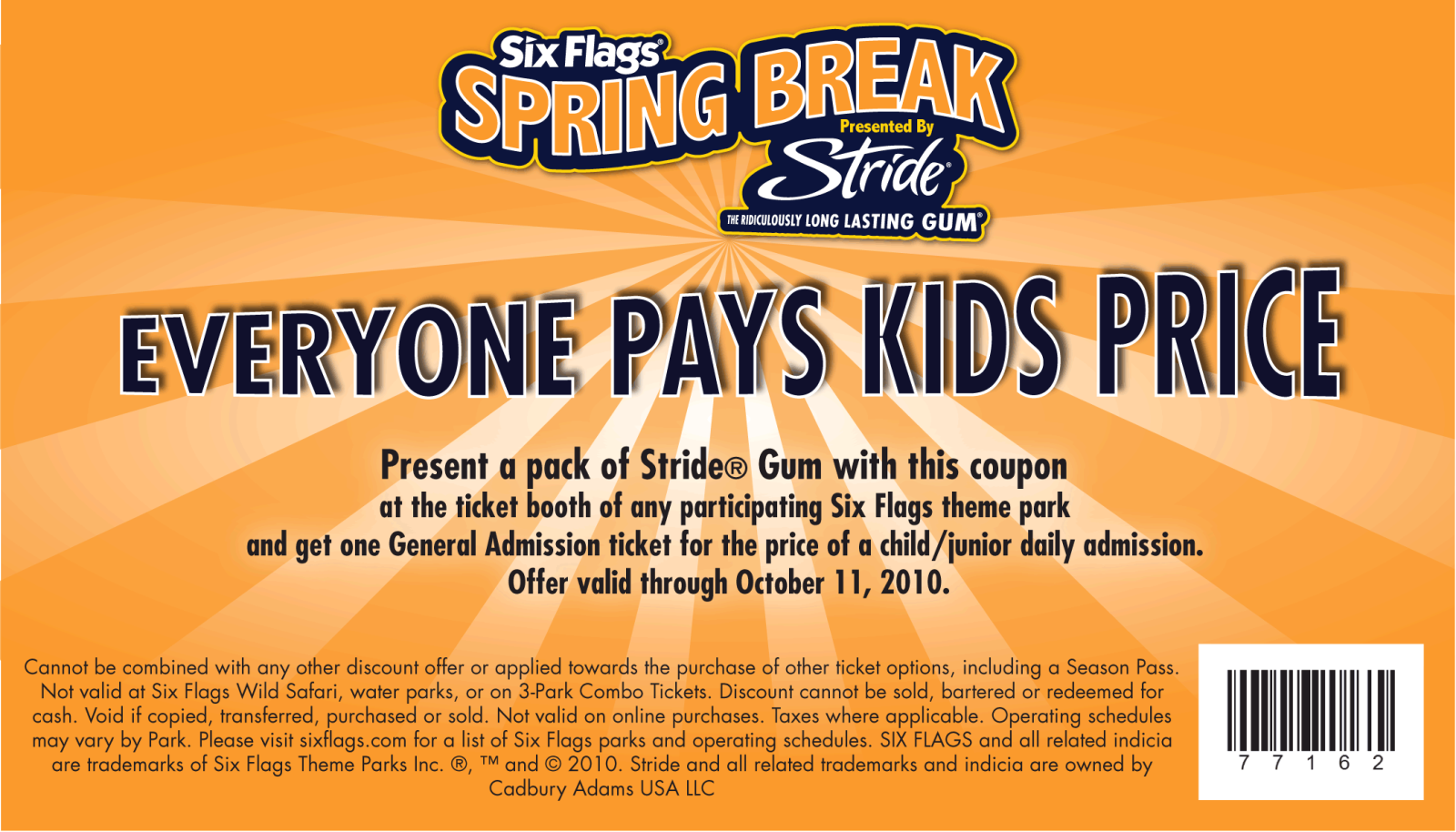 Six flags coupon 2018 nj