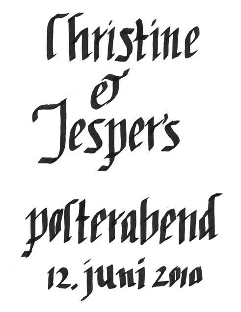 kalligrafi skrift