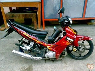 Modifikasi Jupiter Mx Full Fairing