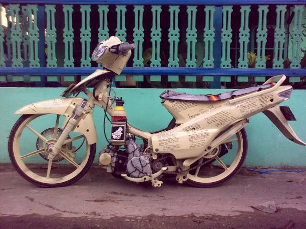 Picture Motor Ceper Modifikasi