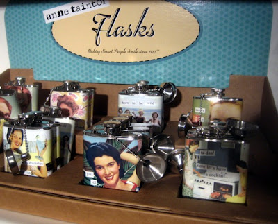 Anne Taintor flasks