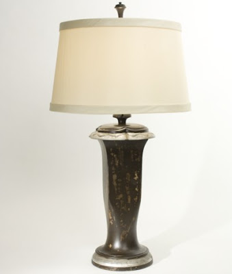 The Natural Light, Panama City, Florida, introduced new lamps at the High Point market, including Jolie from the Vermeer collection.