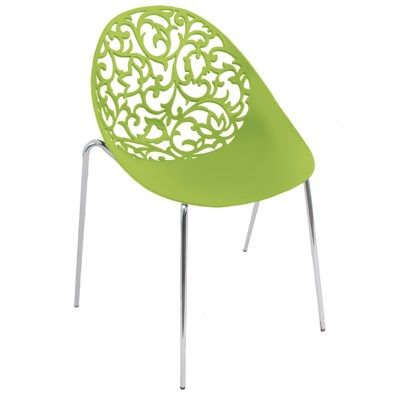 The Dahlia chair from furniture wholesaler LumiSource is from the company's contemporary seating collection.