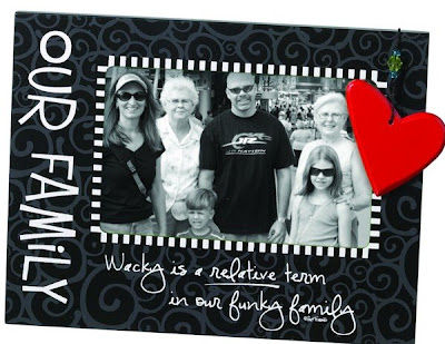 A photo frame designed by suzy Toronto for Seasons of Cannon Falls
