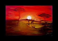 """""""Puesta de sol en África"""""""