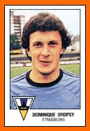 Classement historique des clubs 01-Dominique+DROPSY+1979+Panini+Strasbourg