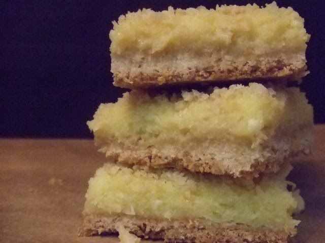 sweet climate: Key Lime Bars with Coconut Crust