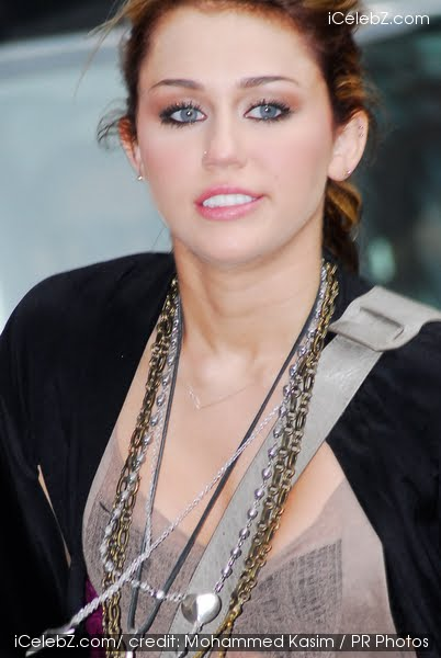 Miley Cyrus has already two tattoos, which is under her left breast and ...