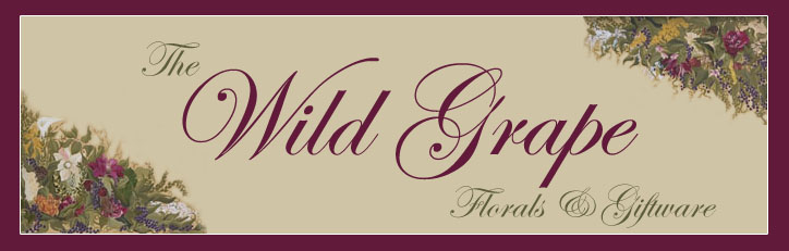 Wild Grape Florals & Giftware Blog