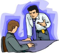 interrogate suspect