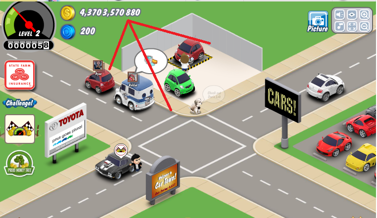 Car Town Cheats Super Money