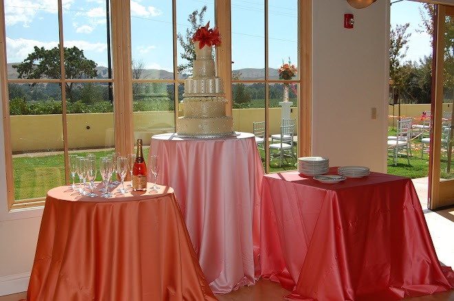 Wedding Cake with a view