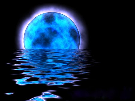 blue moon is rising