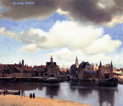 Johannes Vermeer 1660_Johannes_Vermeer_View_of_Delft-L400