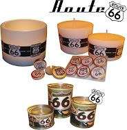 Route 66 Vintage Candles