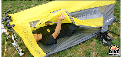 The tent has a single door on the right side. This means that unless you are training to be a contortionist your sleeping bag should ideally open on the ... : topeak tent - memphite.com