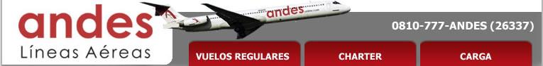 Andes Lineas Aereas vuelos a Puerto Madryn Península Valdés