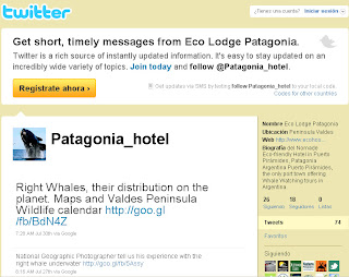 Follow the adventure in Valdes Peninsula, Whale Watching, Orcas Season,Elephant Seals, Penguin in your Social Network