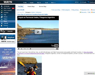 Patagonia Whale Watching in the Social Network