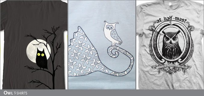 Owl t-shirts