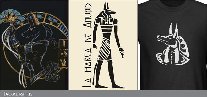 Jackal t-shirts
