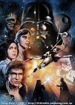 """Trilogia clássica de """"Star Wars"""""""