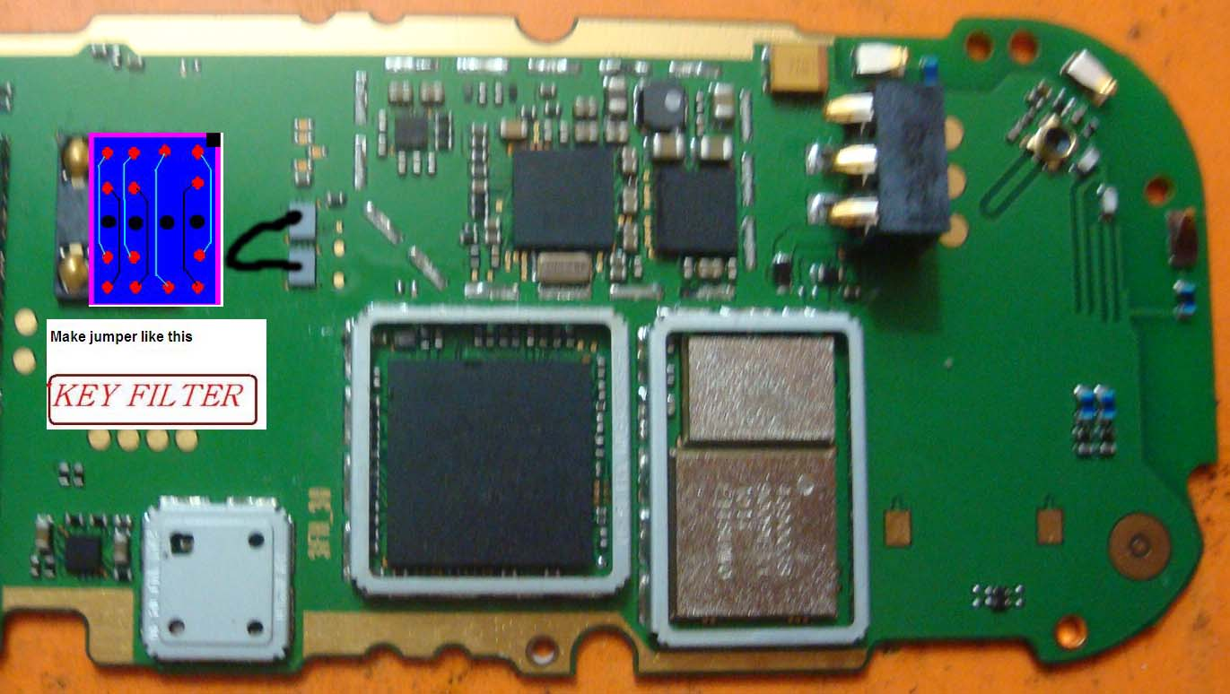 ... solution fully computerised mobile reparing 2690 key pad ic jumper