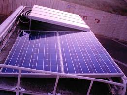 תאים סולריים על גג הרכב