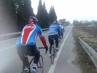 los cicloturistas más cañeros del CC Sant Boi