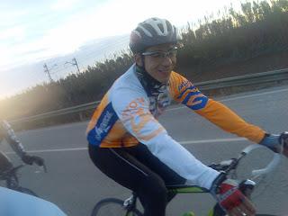 Guillem ha guardado la bici de ciclocross por ahora