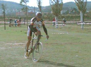 Francesc Carnicer en el ciclocross Copa Catalana