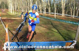 Campionat Catalunya ciclocross Joan Aguilera